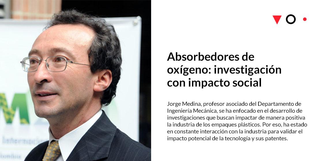 Jorge Medina: Absorbedores de oxígeno